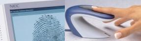 Identificação biométrica digital - Figura obtida no site www.nec.pt